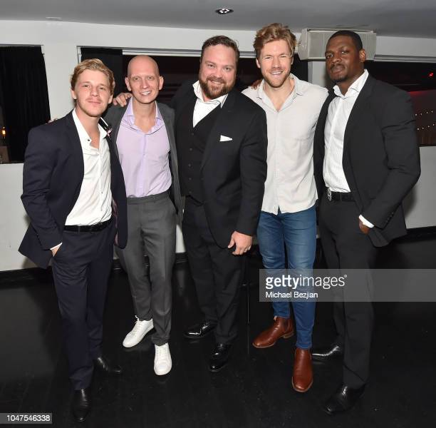 Daniel Webber Anthony Carrigan Drew Powell Alexander Englund and Jason R Moore attend at The 4th Annual A Cause For Entertainment Benefit on October...