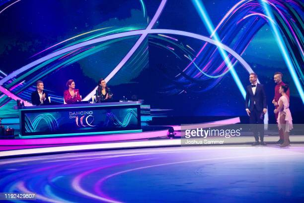Daniel Weiss Katarina Witt Judith Williams Daniel Boschmann Eric Stehfest and Amani Fancy during the 5th show of the TV series Dancing on Ice on...