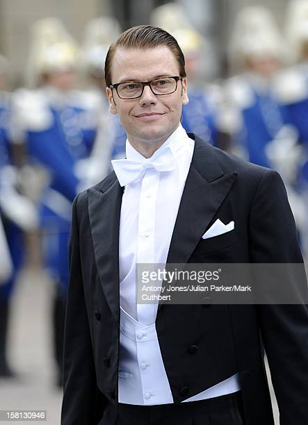 Daniel Westling At The Wedding To Crown Princess Victoria Of Sweden At Stockholm Cathedral