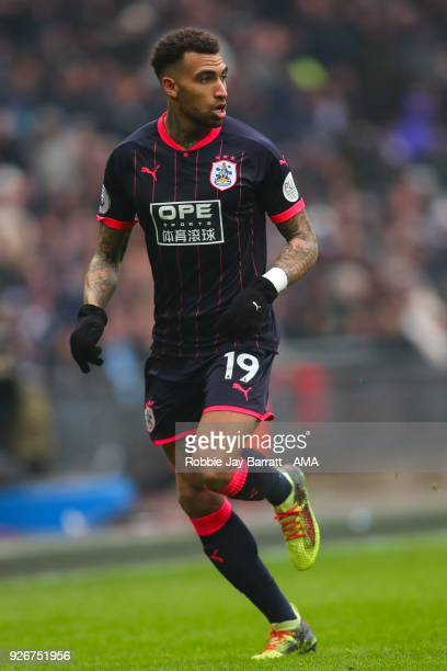 Daniel Williams of Huddersfield Town during the Premier League match between Tottenham Hotspur and Huddersfield Town at Wembley Stadium on March 3...