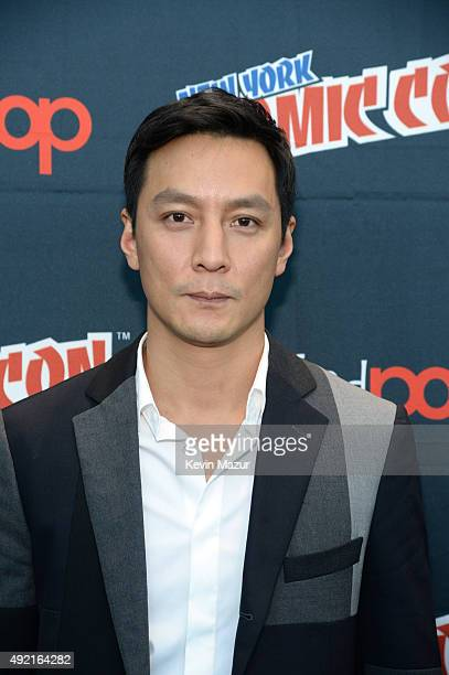 Daniel Wu attends AMC's 'Into the Badlands' panel at New York Comic Con at Jacob Javits Center on October 10 2015 in New York City