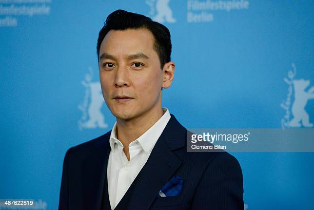 Daniel Wu attends 'That Demon Within' photocall during 64th Berlinale International Film Festival at Grand Hyatt Hotel on February 8 2014 in Berlin...