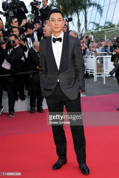 Daniel Wu attends the screening of Rocketman during the 72nd annual Cannes Film Festival on May 16 2019 in Cannes France