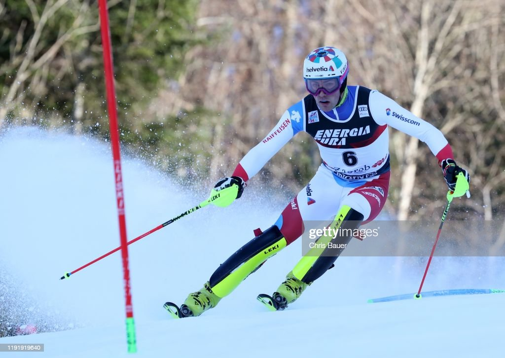 Daniel Yule Of Switzerland During The First Run Of The Audi Fis News Photo Getty Images