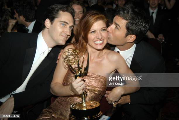 Daniel Zelman Debra Messing who won for outstanding lead actress in a comedy series for her work on Will Grace and costar Eric McCormack