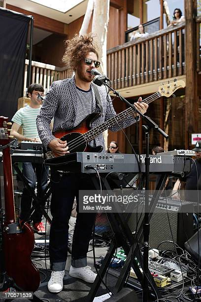 Daniel Zott of Dale Earnhardt Jr Jr performs during WBR Summer Sessions at Warner Bros Records Boutique Store on June 14 2013 in Burbank California