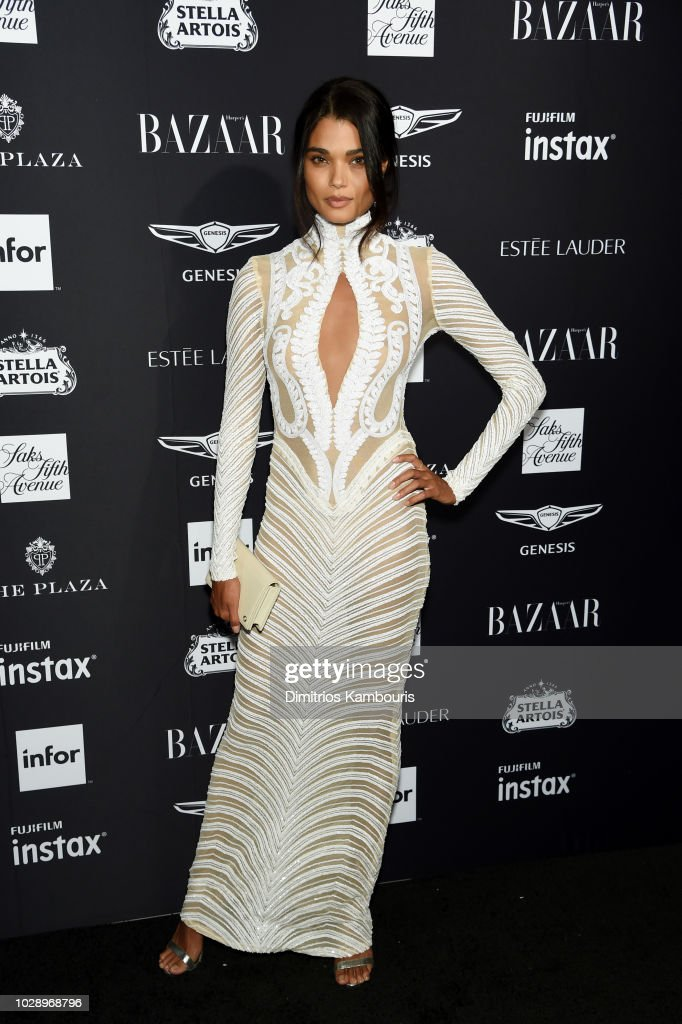 Daniela Braga attends as Harper's BAZAAR Celebrates 'ICONS By Carine Roitfeld' at the Plaza Hotel on September 7, 2018 in New York City.