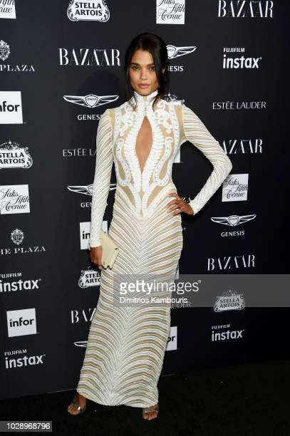 Daniela Braga attends as Harper's BAZAAR Celebrates ICONS By Carine Roitfeld at the Plaza Hotel on September 7 2018 in New York City