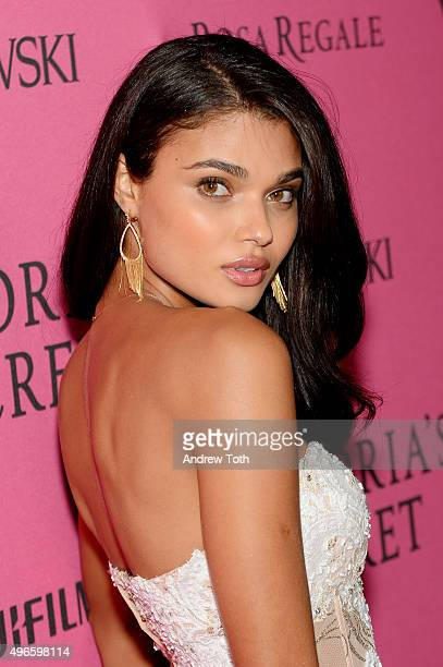 Daniela Braga attends the 2015 Victoria's Secret Fashion Show after party on November 10 2015 in New York City