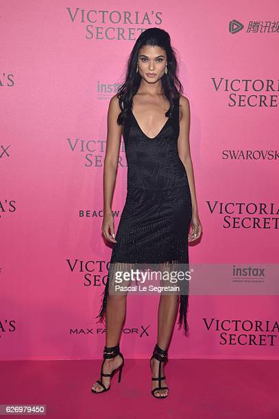 Daniela Braga attends the 2016 Victoria's Secret Fashion Show after party on November 30 2016 in Paris France