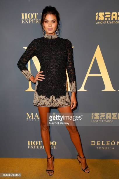 Daniela Braga attends The 2018 Maxim Hot 100 Party at Hollywood Palladium on July 21 2018 in Los Angeles California