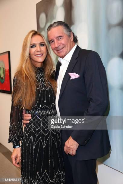 Daniela Brunner and Urs Brunner during the PIN Party at Pinakothek der Moderne on November 23 2019 in Munich Germany