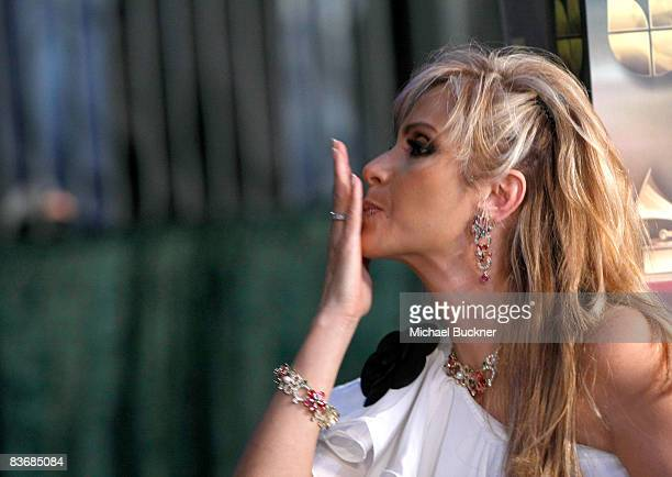 Daniela Castro arrives at the 9th annual Latin GRAMMY awards held at the Toyota Center on November 13 2008 in Houston Texas