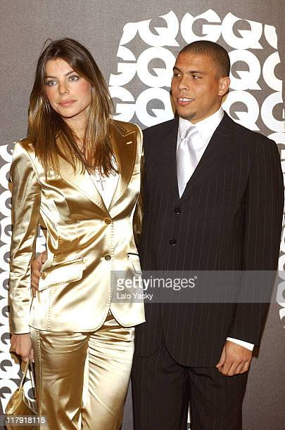 Daniela Cicarelli and Ronaldo during Soccer Player Ronaldo Awarded GQ Men of the Year Award for Best Sportsman December 13 2004 at Palace Hotel in...