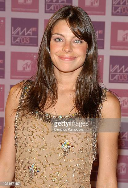 Daniela Cicarelli during MTV Video Music Awards Latin America 2003 Arrivals at The Jackie Gleason Theater in Miami Beach Florida United States