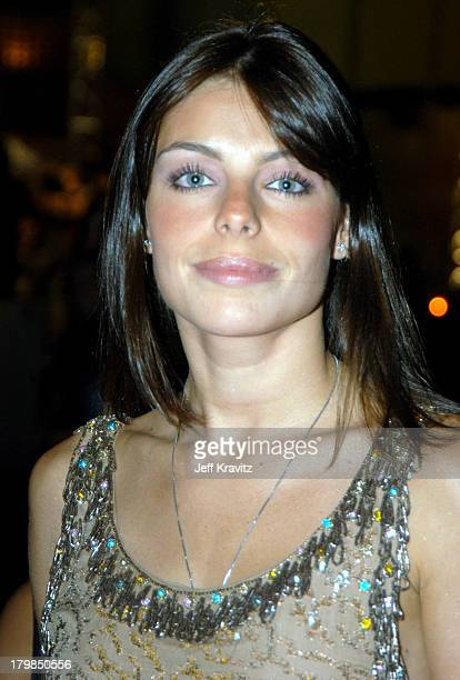 Daniela Cicarelli during MTV Video Music Awards Latin America 2003 Red Carpet at Jackie Gleason Theater in Miami Beach Florida United States