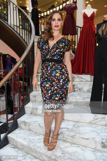 Daniela Dany Michalski attends the Fashion2Show show during the Berlin Fashion Week Spring/Summer 2019 at Quartier 206 on July 5 2018 in Berlin...