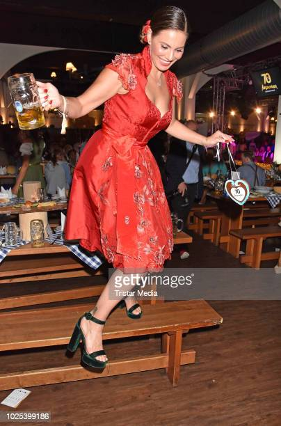 Daniela Dany Michalski during the Angermaier TrachtenNacht at Hofbraeuhaus on August 30 2018 in Berlin Germany