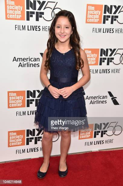 Daniela Demesa attends the ROMA premiere during the 56th New York Film Festival at Alice Tully Hall Lincoln Center on October 5 2018 in New York City