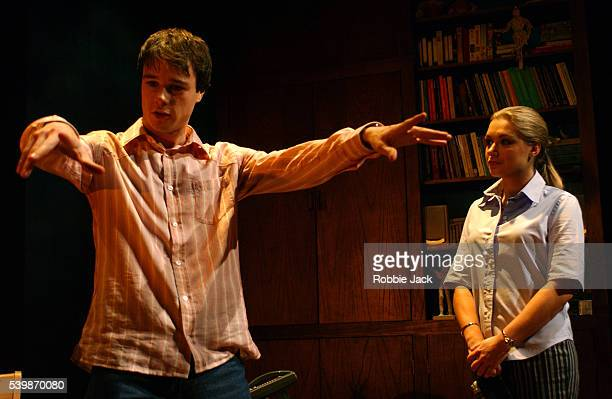 Daniela DenbyAshe and Rupert Evans in the production Sweet Panic which opens at the Duke of York Theatre Directed by Stephen Poliakoff