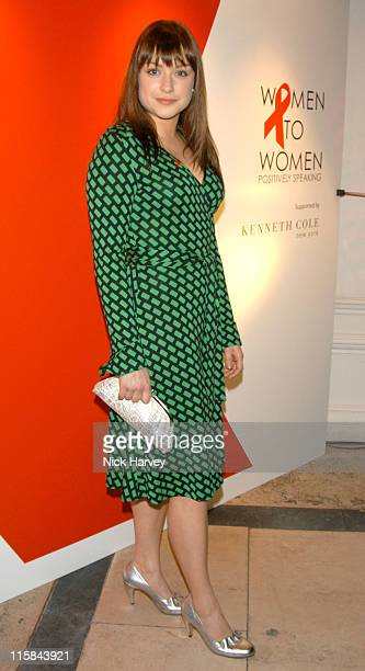 Daniela DenbyAshe during Women To Women Positively Speaking Party A Publication to Raise Awareness of Women Living With HIV / AIDS Inside at The...