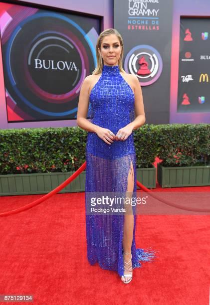 Daniela Di Giacomo attends The 18th Annual Latin Grammy Awards at MGM Grand Garden Arena on November 16 2017 in Las Vegas Nevada
