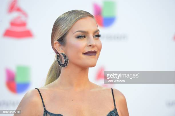 Daniela di Giacomo attends the 19th annual Latin GRAMMY Awards at MGM Grand Garden Arena on November 15 2018 in Las Vegas Nevada