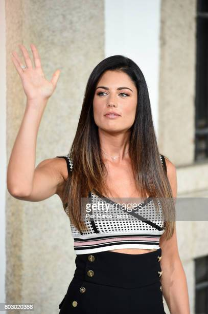 Daniela Ferolla attends the Rai show schedule presentation at Statale University of Milan on June 28 2017 in Milan Italy