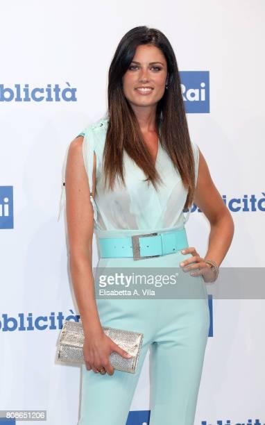 Daniela Ferolla attends the Rai Show Schedule Presentation In Rome on July 4 2017 in Rome Italy
