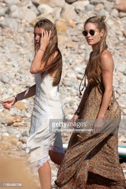Daniela Figo and Helen Svedin are seen on July 16 2019 in Ibiza Spain
