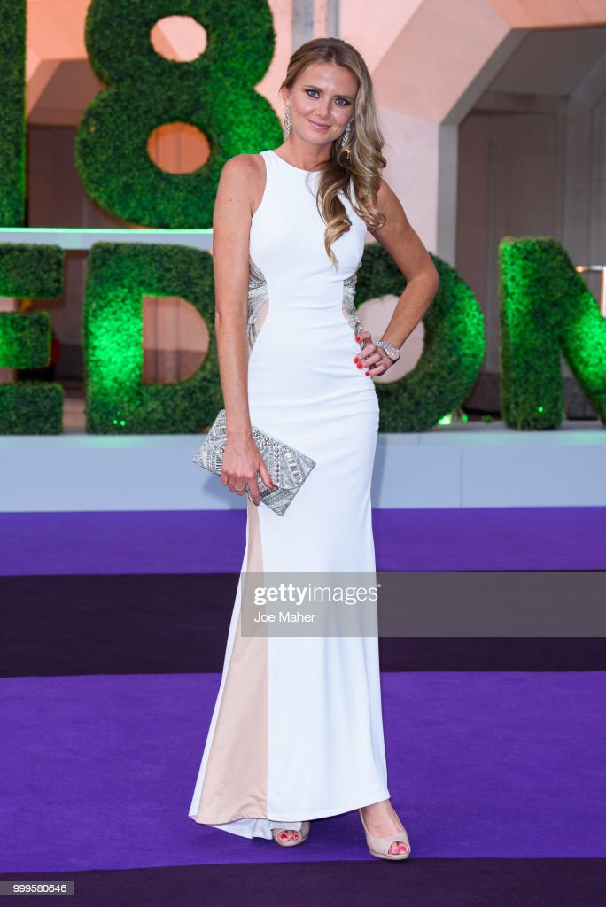 Daniela Hantuchová attends the Wimbledon Champions Dinner at The Guildhall on July 15, 2018 in London, England.