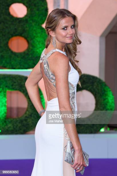 Daniela Hantuchová attends the Wimbledon Champions Dinner at The Guildhall on July 15 2018 in London England