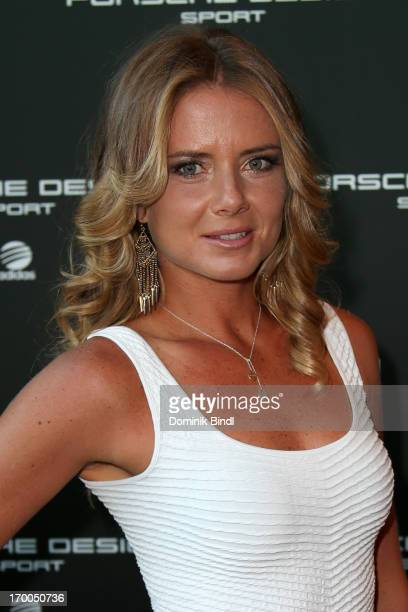Daniela Hantuchova attends Porsche Design Sport Mountain Loft at University of Television and Film Munich on June 6 2013 in Munich Germany