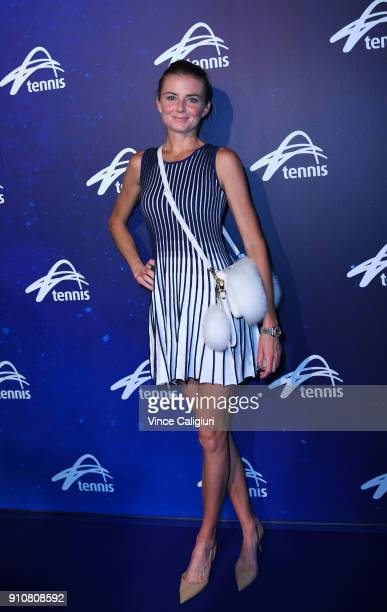 Daniela Hantuchova attends the annual Legends Lunch on day 13 of the 2018 Australian Open at Melbourne Park on January 27 2018 in Melbourne Australia...