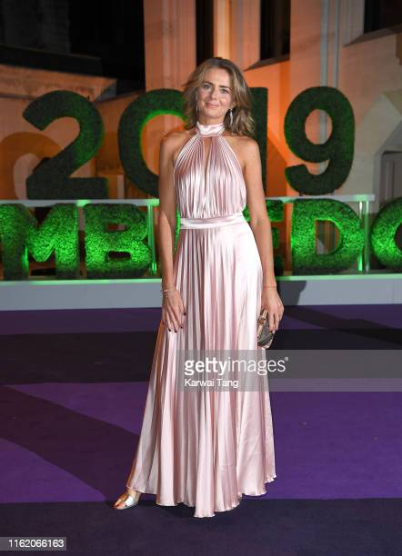 Daniela Hantuchova attends the Wimbledon Champions Dinner at The Guildhall on July 14 2019 in London England