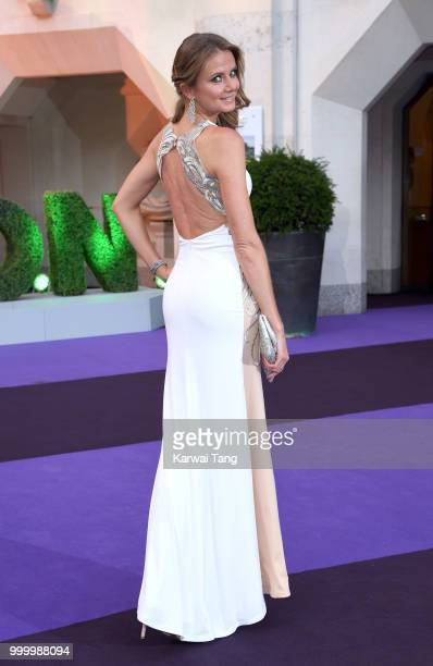 Daniela Hantuchova attends the Wimbledon Champions Dinner at The Guildhall on July 15 2018 in London England