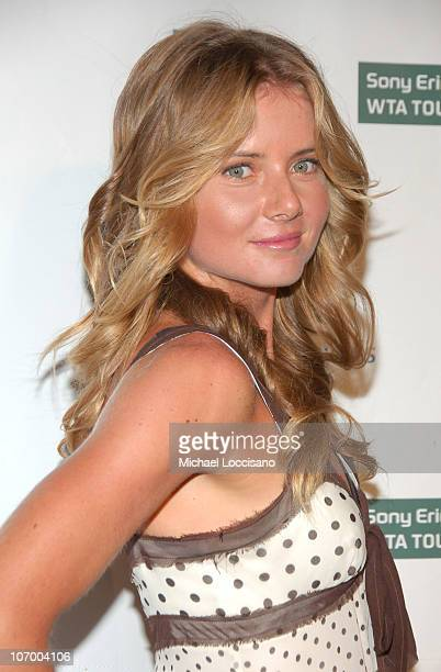 Daniela Hantuchova during Glam Slam '06 Launching the 2006 US Open Arrivals at Crobar in New York City New York United States