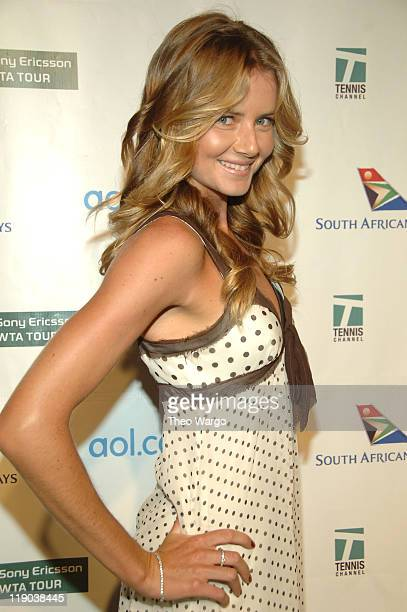 Daniela Hantuchova during Glam Slam 2006 US Open KickOff Party at Crobar in New York City New York United States