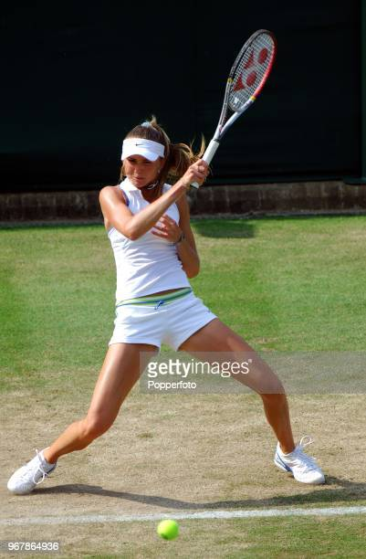 Daniela Hantuchova of Slovakia during her third round match on Day 5 of the Wimbledon Championships June 30th 2006