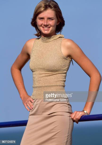 Daniela Hantuchova of Slovakia poses for a photoshoot during the Britannic Asset Management International Tennis Championships at Devonshire Park...