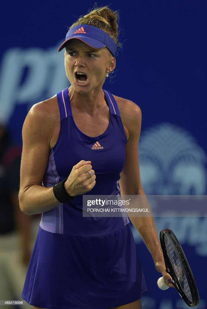 TENNIS-WTA-THA : News Photo