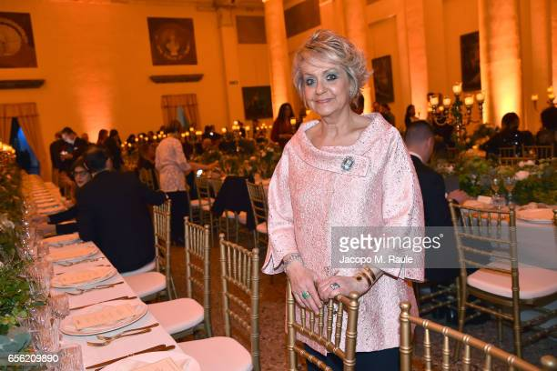 Daniela Javarone attends a dinner for 'Damiani Un Secolo Di Eccellenza' at Palazzo Reale on March 21 2017 in Milan Italy