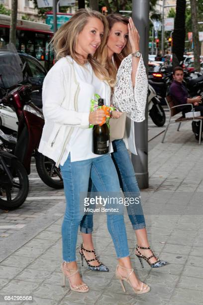 Daniela Jehle is seen walking in Barcelona on May 17 2017 in Barcelona Spain