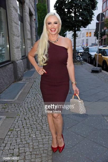 Daniela Katzenberger attends the 'Deutscher Tierschutzpreis' at Meistersaal at Potsdamer Platz on October 9 2018 in Berlin Germany