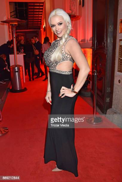 Daniela Katzenberger attends the Ein Herz Fuer Kinder Gala 2017 After Show Party at Borchardt Restaurant on December 9 2017 in Berlin Germany
