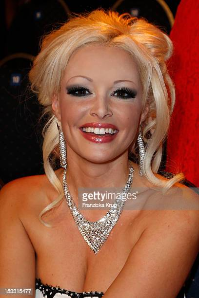 Daniela Katzenberger attends the German TV Award 2012 at Coloneum on October 2 2012 in Cologne Germany