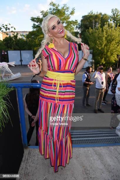 Daniela Katzenberger attends the NYX Face Awards 2018 on June 27 2018 in Berlin Germany