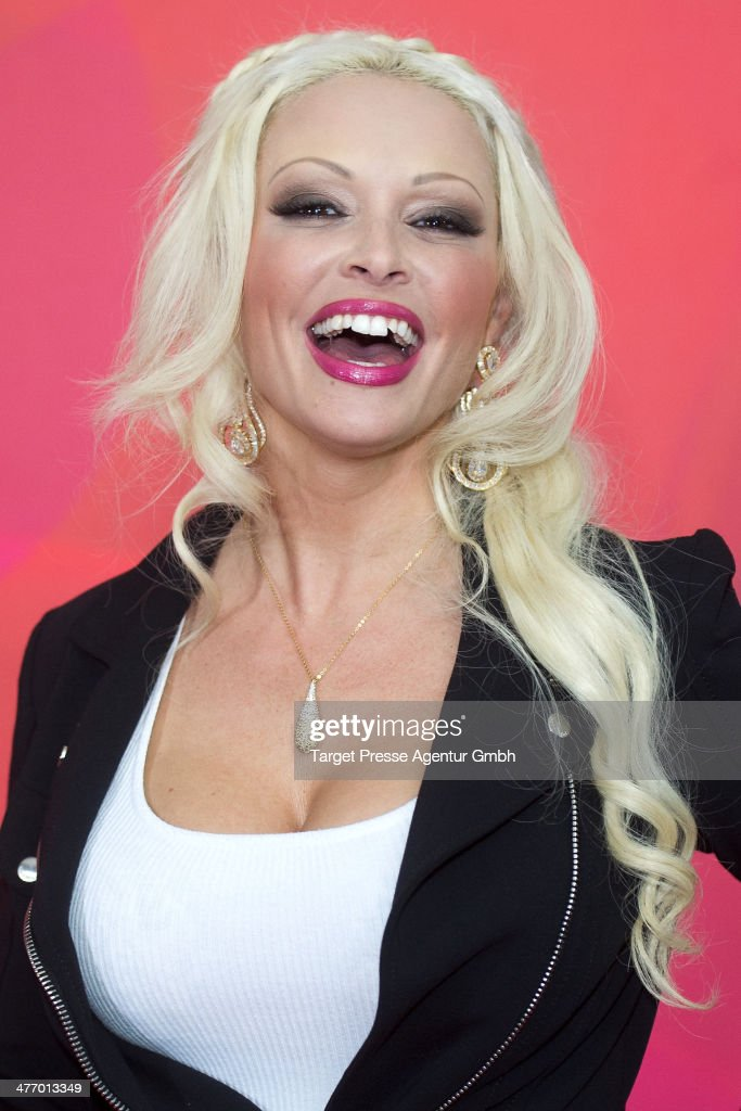 Daniela Katzenberger attends the 'Sing meinen Song - das Tauschkonzert' photocall at Asphalt Club on March 6, 2014 in Berlin, Germany.