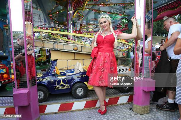 Daniela Katzenberger during the Oktoberfest 2018 at Theresienwiese on September 23 2018 in Munich Germany