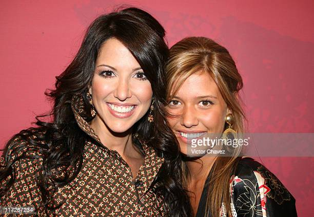 Daniela Kosan and Michelle Salas Luis Miguel's daughter